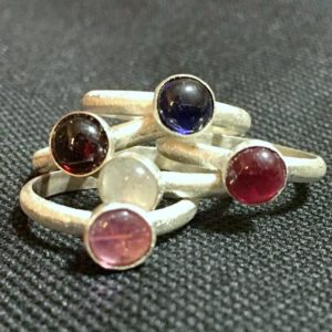Semi Precious Gemstone Rings